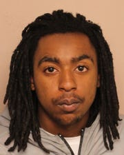 Orlando Harris, 21, was arrested on charges of aggravated robbery and aggravated kidnapping.