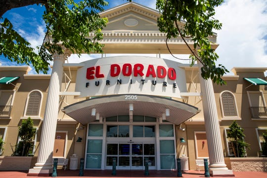 The new 43,000-square-foot El Dorado Furniture Naples Showroom allows customers to browse the furniture and mattress selection through its innovative Boulevard concept, with themed galleries and boutiques, as seen on Tuesday, Aug. 14, 2018. Established in South Florida in 1967, El Dorado Furniture has grown to become the largest Hispanic-owned furniture retail enterprise in the United States, with 12 El Dorado Furniture showrooms and three outlet centers in Florida.