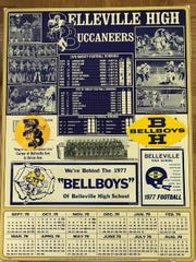 Belleville's 1978 season marked the school's first with the Buccaneers moniker.