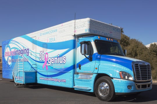 3D mammograms are offered via the Assured Images mobile coach.