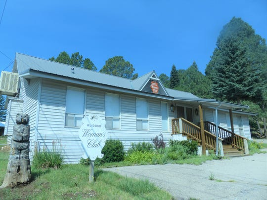 The Ruidoso Federated Woman's Club maintains a clubhouse on Evergreen Street.