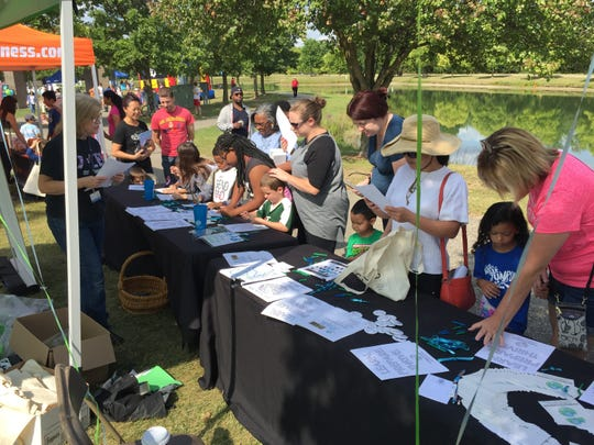 More than 2,000 people took part in Plymuoth-Canton's Back to School Bash last year. This year's event is set for Saturday, Aug. 25, in Canton's Heritage Park.