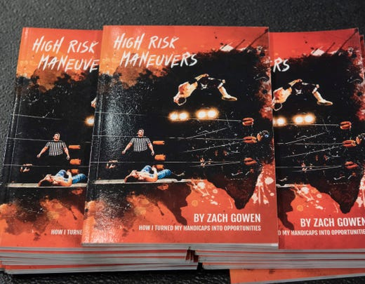 Zach Gowen penned a book during his life journey.