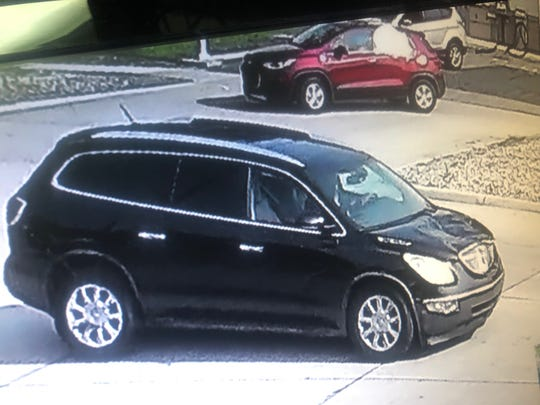 Westland Police have released surveillance photos of the vehicle believed to have struck and killed an off-duty Wayne County Sheriff's deputy. Aug. 14 in Hines Park.