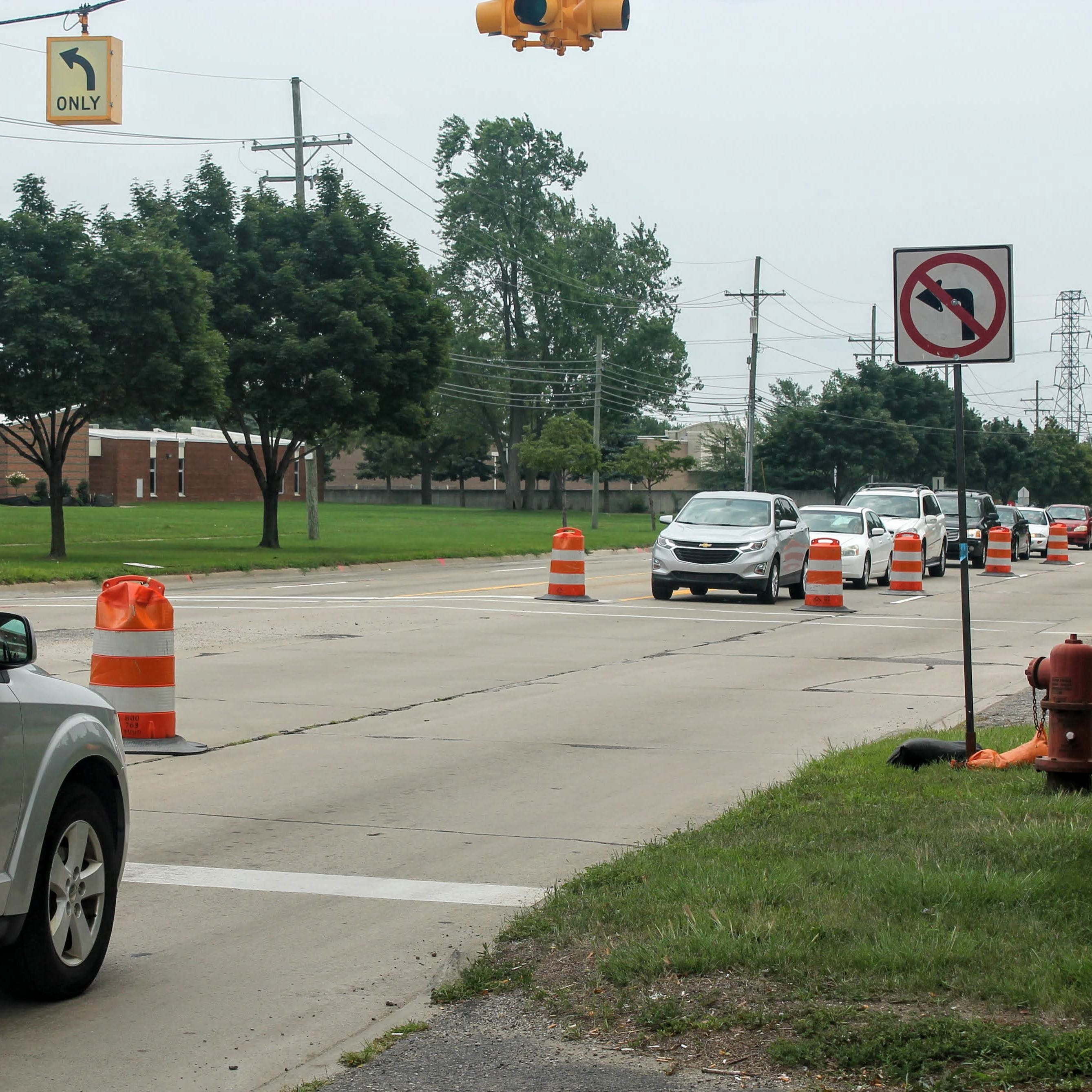 More orange barrels coming in Livonia: this time, along Newburgh and Gill roads