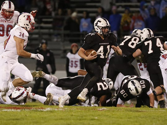 The Fond du Lac offensive line cleared the way for Colton Wasielieski last season and returns three first-team all-conference players to anchor the offense this year.