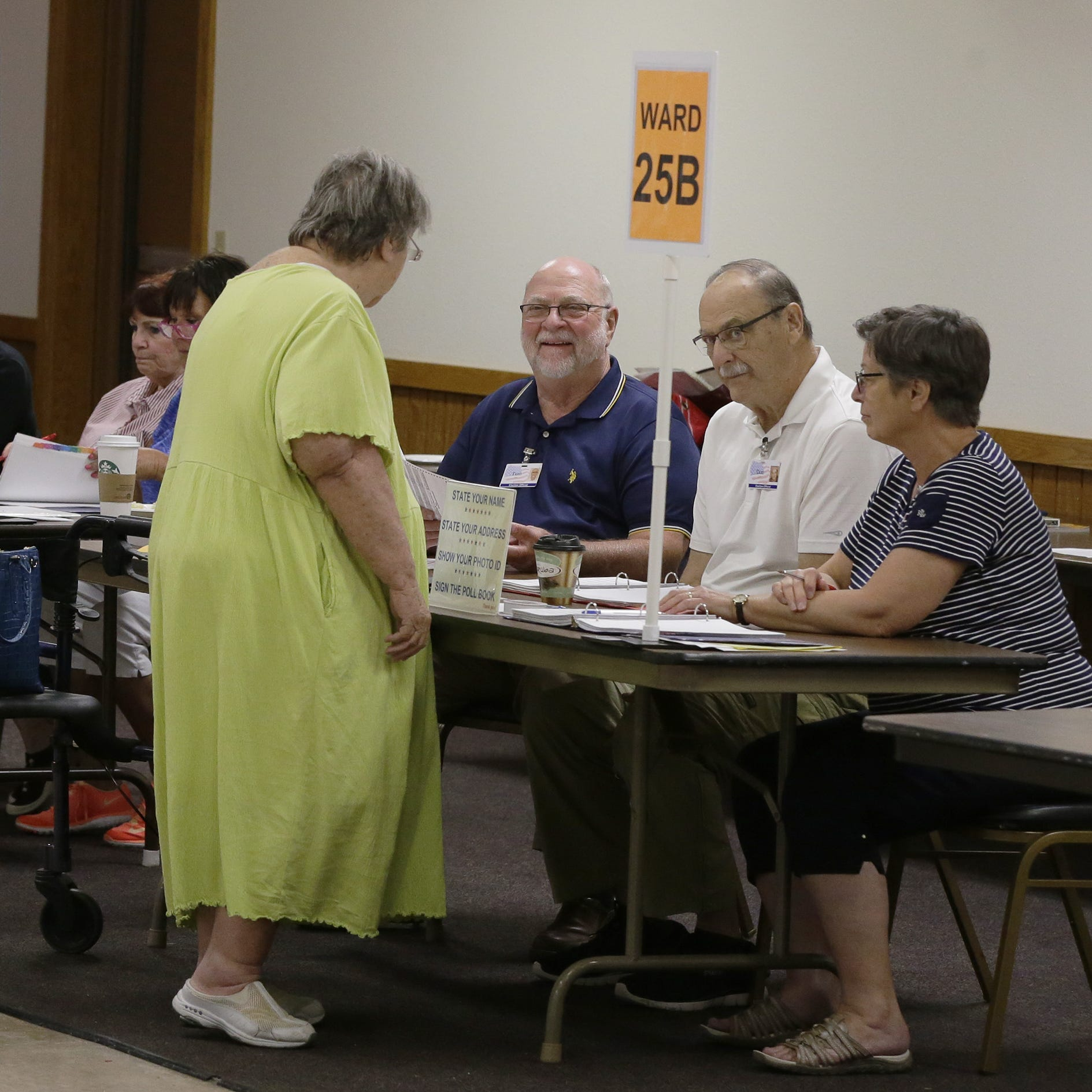 Wisconsin primary: Less than a third of Winnebago County voters cast ballots Tuesday