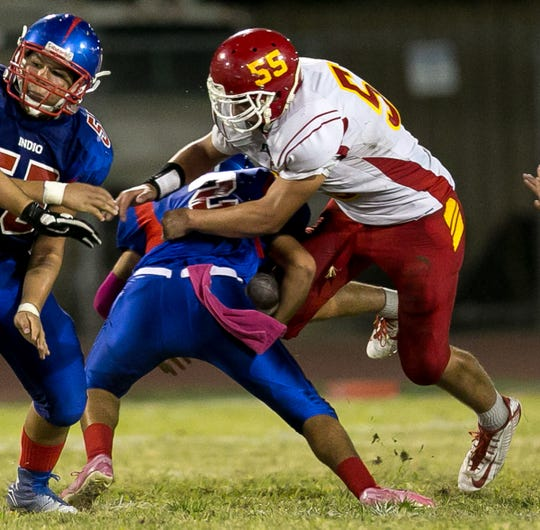 Will Emmett in 2015, versus Indio.