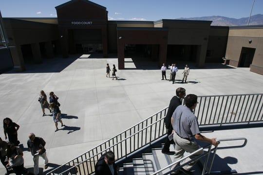 FILE - Rancho Mirage High School circa 2013.