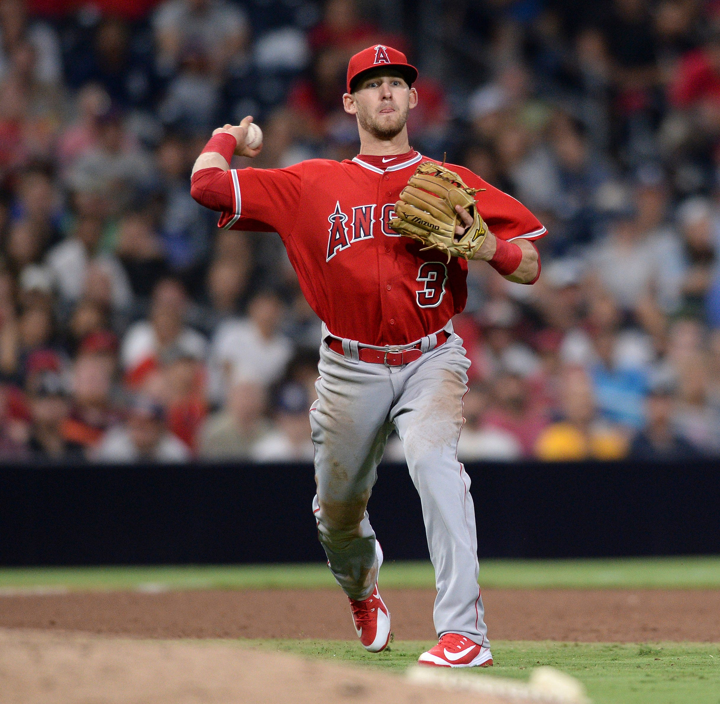 Shadow Hills product Taylor Ward makes splash with double, single, RBI, run in MLB debut