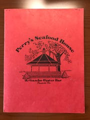 Menu of Perry's Seafood House in Pensacola, FL.
