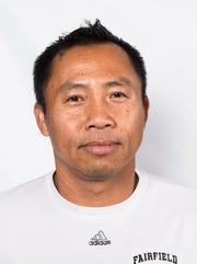 Fairfield girls soccer coach Phomma Phanhthy