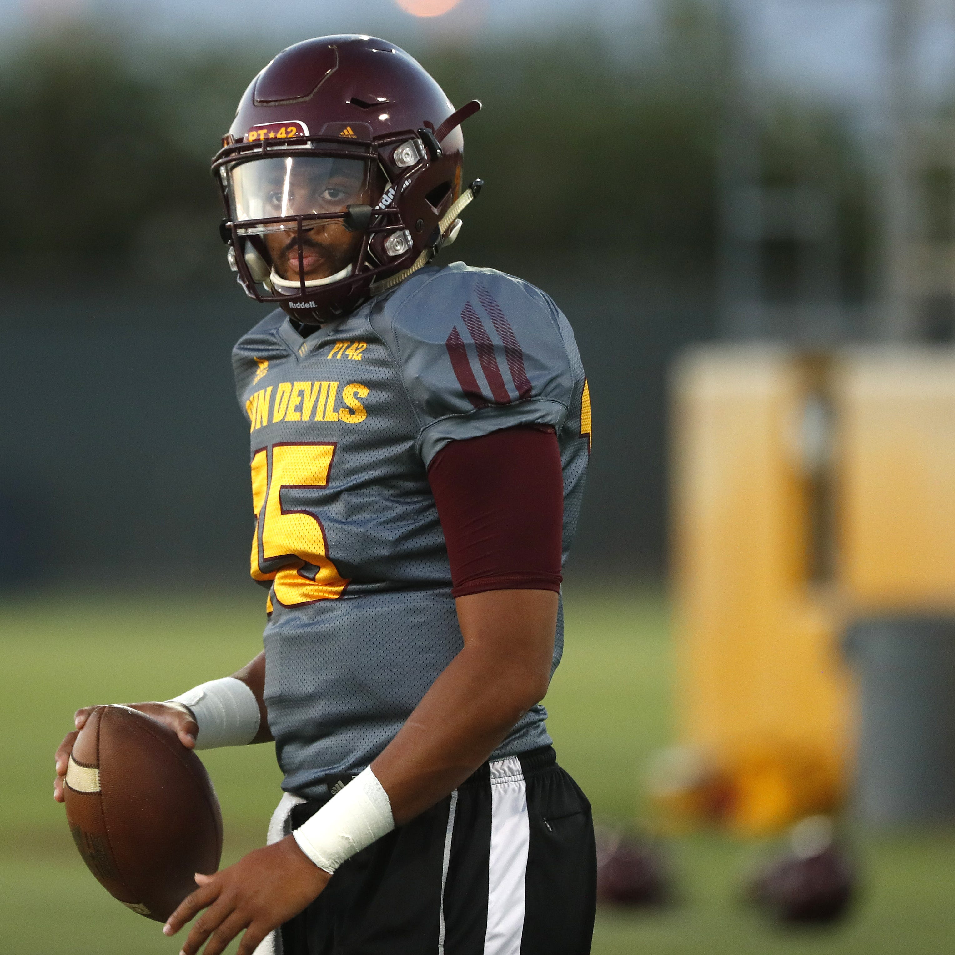 ASU practice report Tuesday: Walk-on challenging Dillon Sterling-Cole for backup QB job