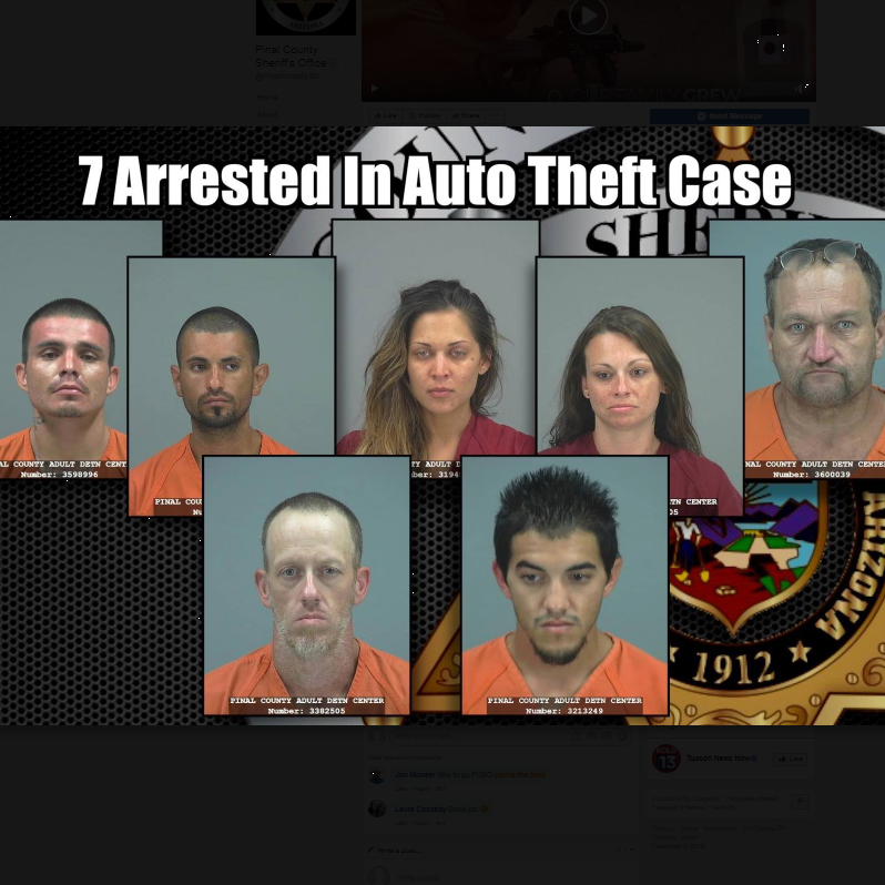 7 arrested in East Valley vehicle-theft ring involving off-road vehicles, motorcycles