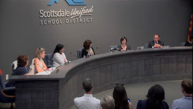The Scottsdale Unified School District board voted to extend acting superintendent John Kriekard's contract after a wave of support from the community. Kriekard has been serving as acting superintendent since May.