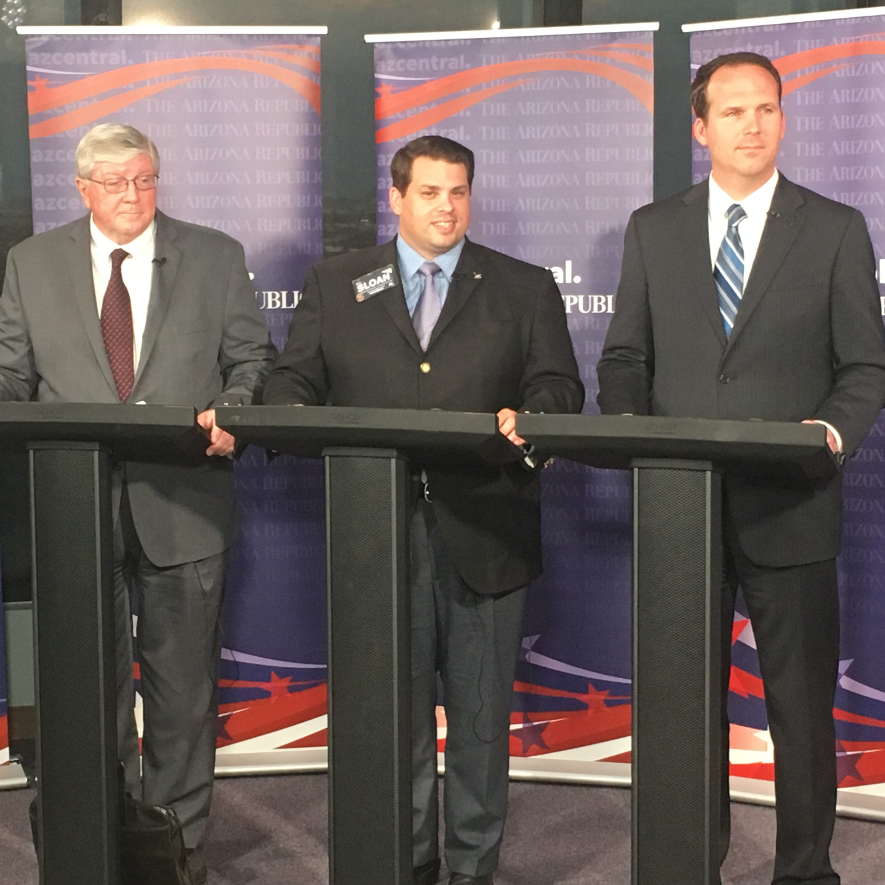 Republican Corporation Commission hopefuls debate integrity, APS, renewables