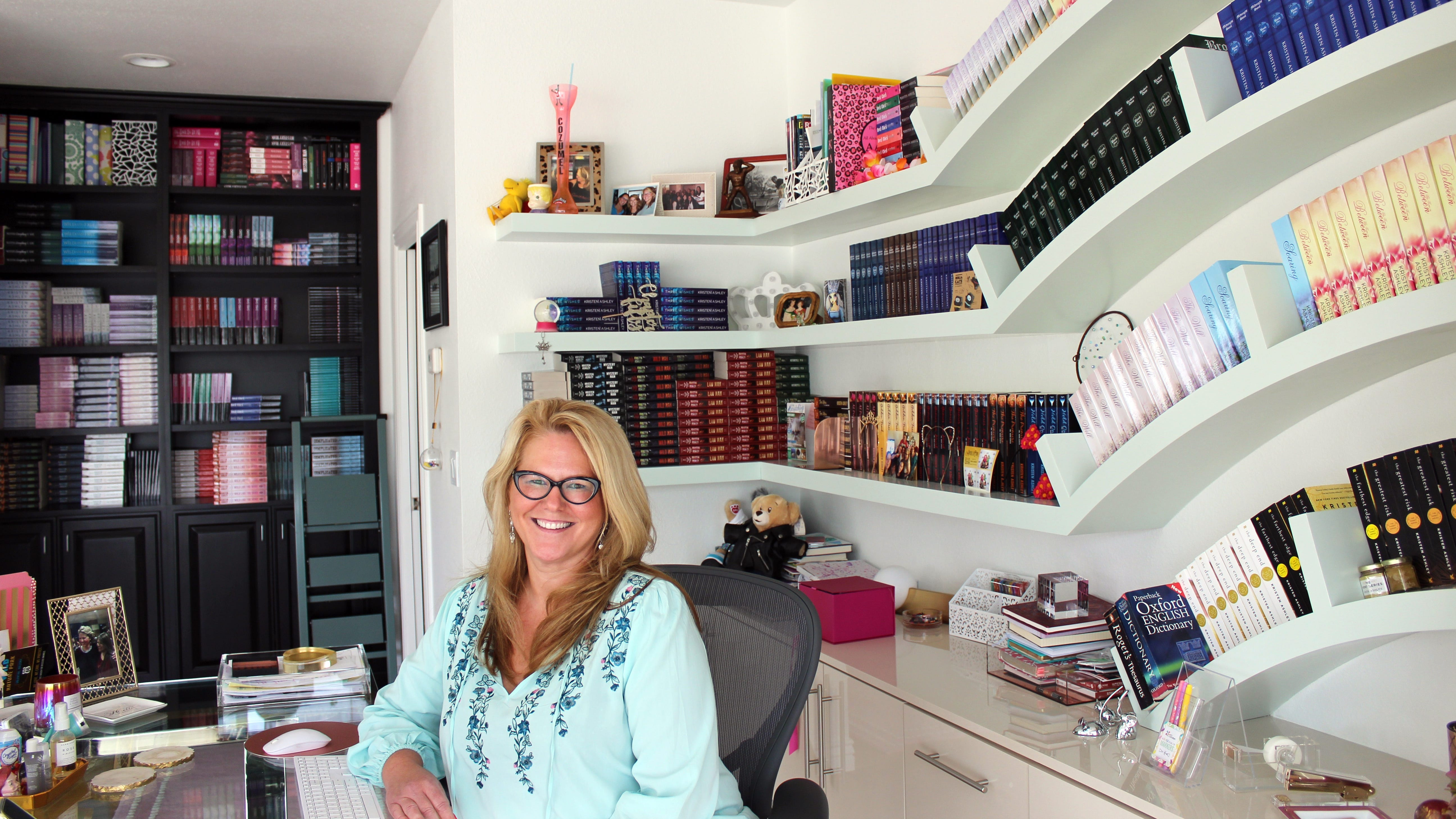 Kristen Ashley started reading romance novels when she was 13 years old. Now, she's published over 60 of her own.