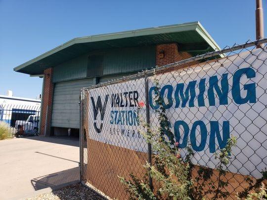 Walter Station Brewery está programado para abrir cerca del final del verano de 2018.