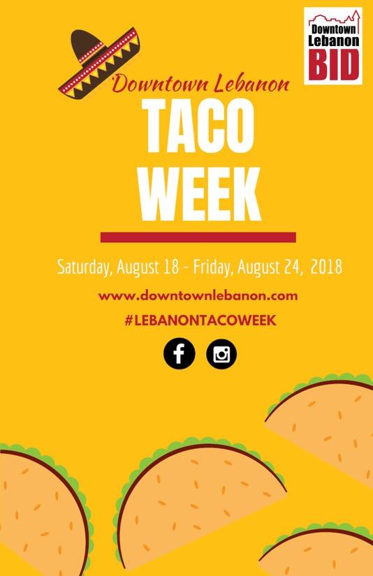 Taco Week Poster