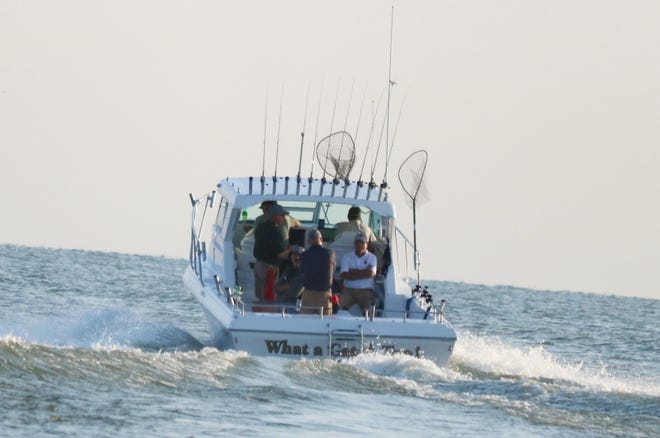 Elected officials from all around the state took to Lake Erie for the Governor's Fish Ohio Day.