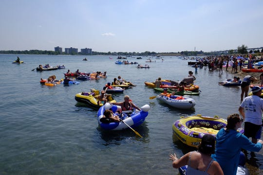 The 2017 Port Huron Float Down was a busy day for law enforcement, with three lives saved, two people arrested and 86 others assisted.