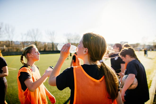 Staying hydrated is paramount for student athletes.