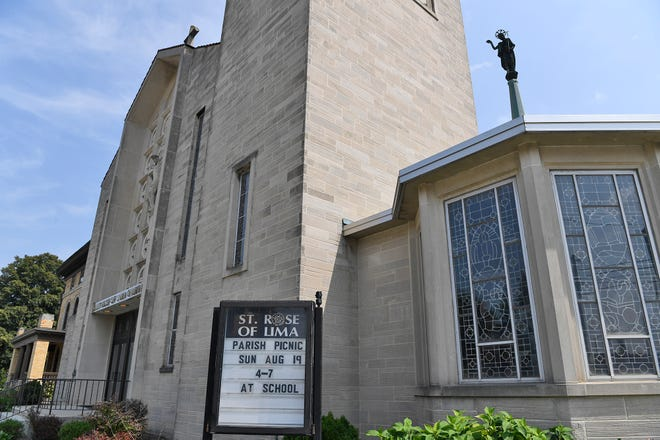 Three local Catholic Churches are included on the list where sexual abuse allegations have been made against priests, Wednesday, August 14, 2018.