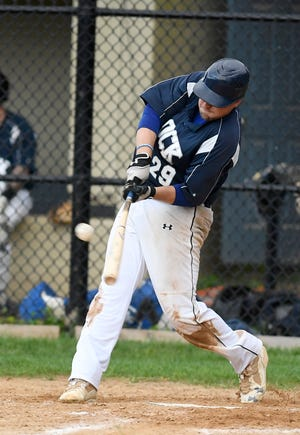 Glen Rock's Justin Anderson, seen here in a file photo, belted a two-run homer on Wednesday night against Mount Wolf.