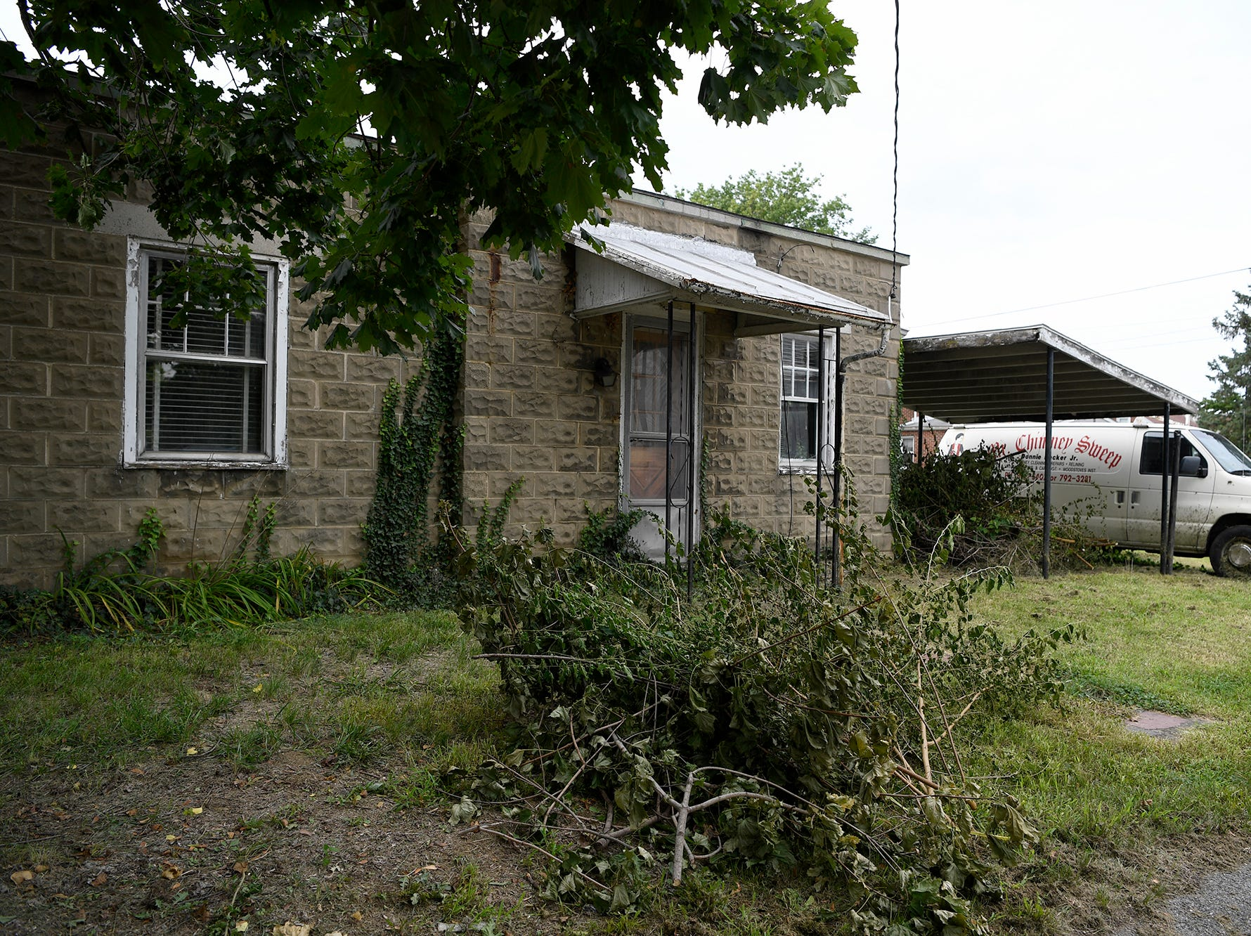West York Borough Codes Enforcement Officer James Hoke says the push on blight enforcement is working, with some owners cleaning up their properties within 24 hours of notice, Wednesday, August 14, 2018. John A. Pavoncello photo