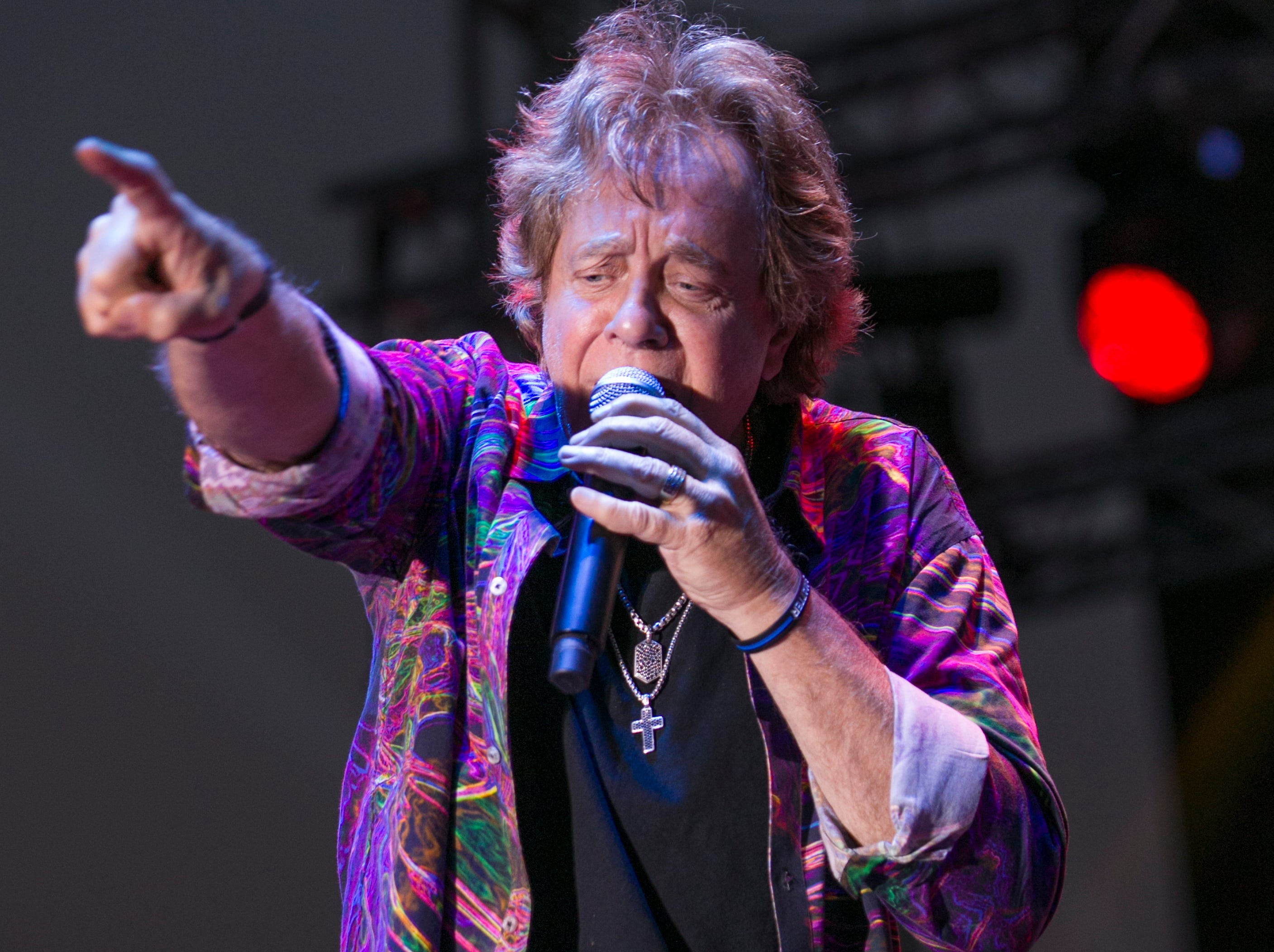 A photograph taken during the Hot August Nights Eddie Money concert at the Grand Sierra Resort in Reno on Thursday, August 9, 2018.