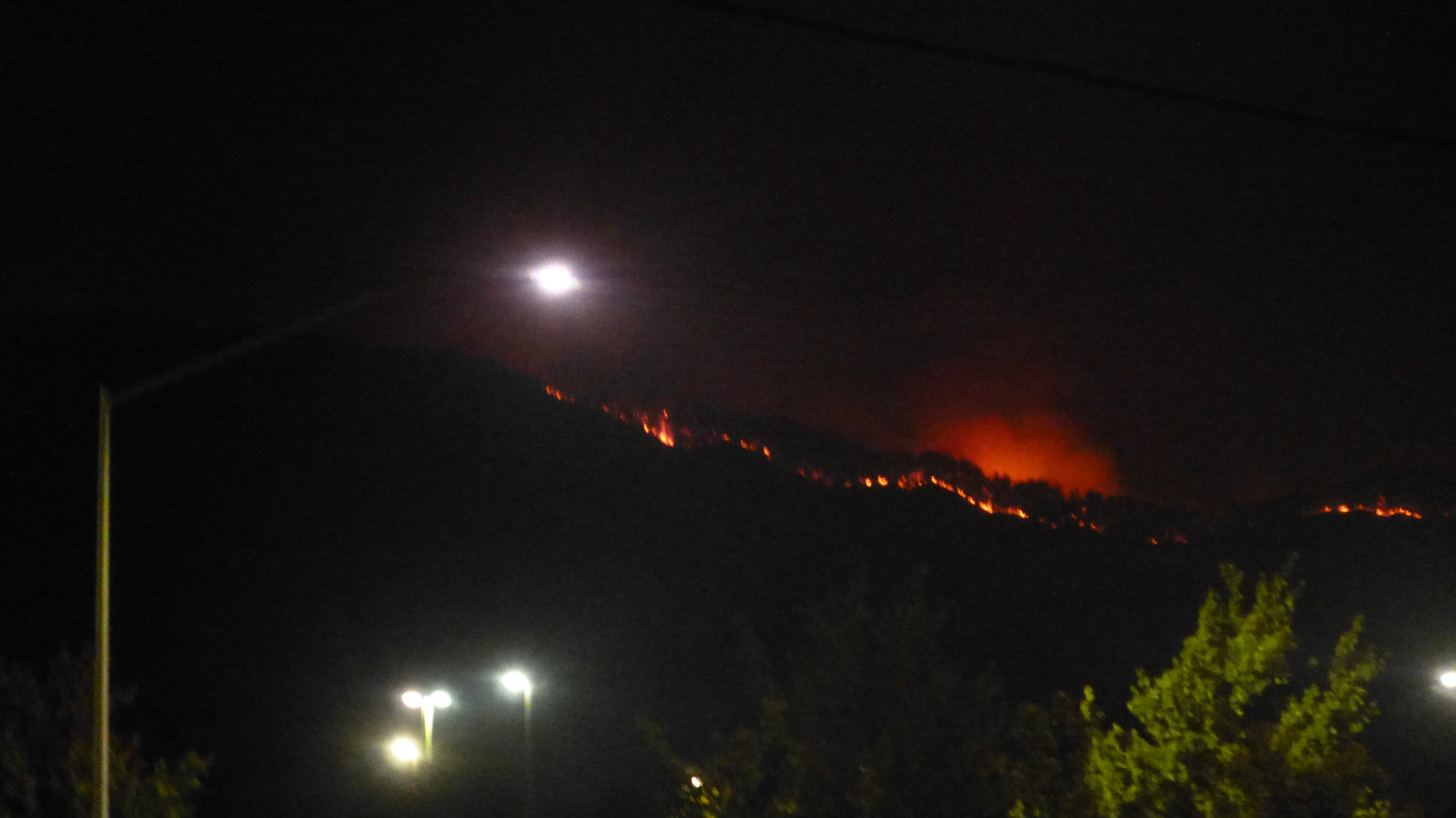 Change: Firefighters atmosphere managed fires north of Redding