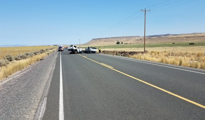 A family member says seven of the eight people killed in a crash on a remote Oregon road were relatives headed to a Las Vegas vacation.