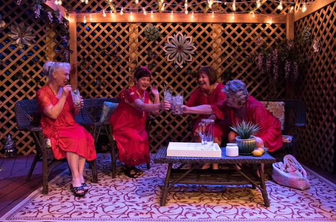 "Pentacle presents a production of ""The Savannah Sipping Society,"" a Southern comedy about four women who become ""new old"" friends and are determined to live in the moment as they cope with the life's challenges and the realities of growing older."