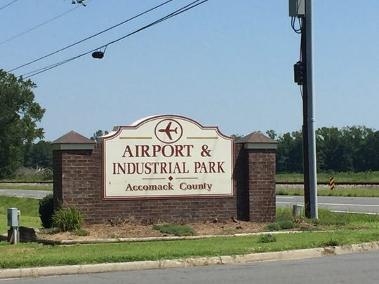 Accomack Airport and Industrial Park in Melfa, Virginia
