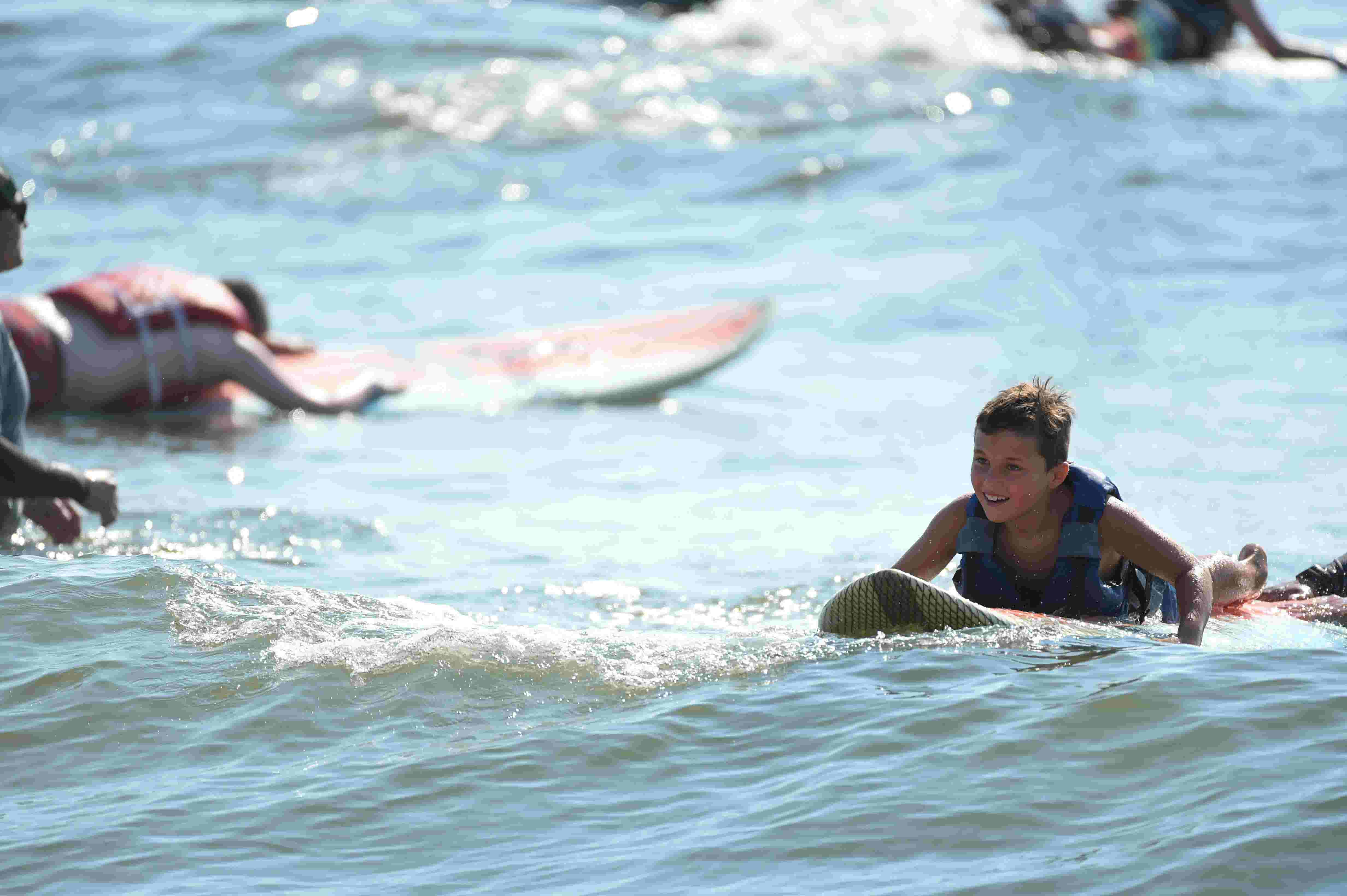 Ocean City Surfing Camp Gives Kids With Autism Confidence Community
