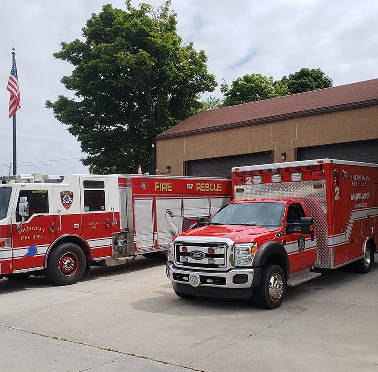 Sheboygan Fire Department to celebrate award from Flight for Life | View from City Hall