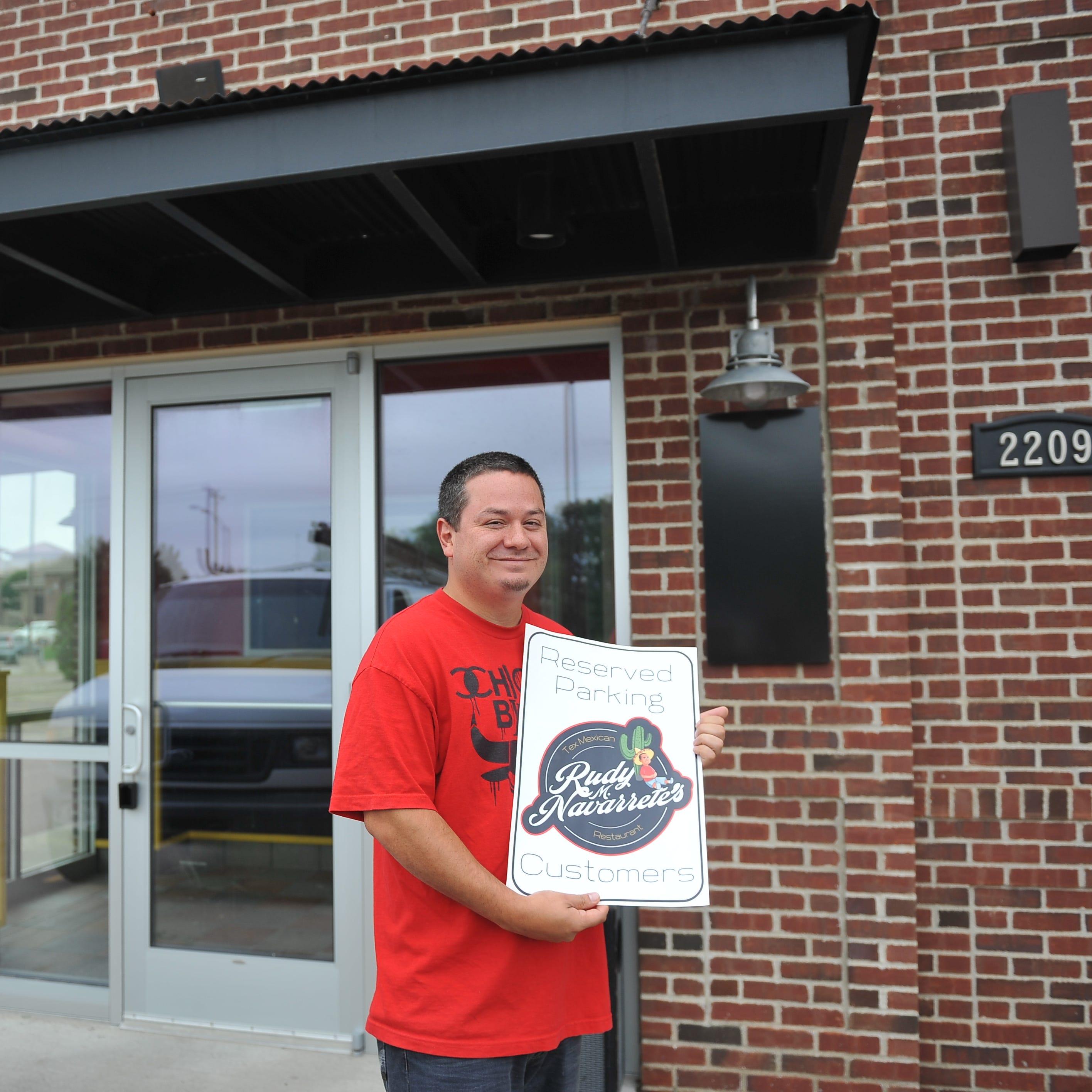 Rudy M. Navarrete's Tex-Mexican Restaurant sets tentative opening date
