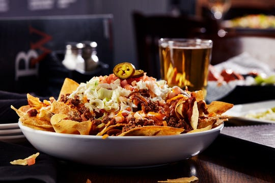 A Big Whiskey's favorite:  Chicken Nachos.