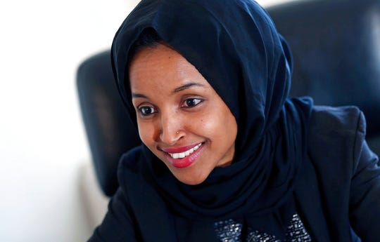 Ilhan Omar, shown in this file photo, made history Tuesday, Aug. 14, by winning the Democratic congressional primary in a Minneapolis-area district so reliably liberal that her victory is likely her ticket to Congress.