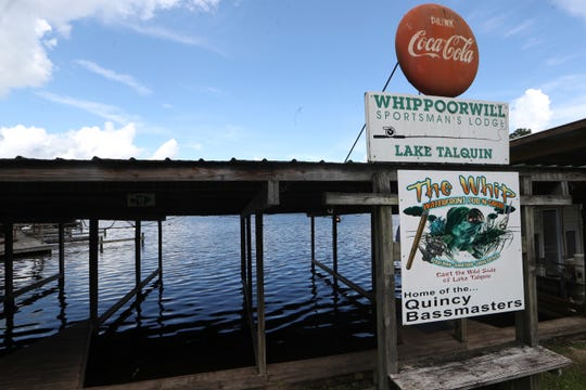The Whippoorwill, longtime restaurant on Lake Talquin, owned by the DuBree family where they also run a number of lakefront condos, a rental lodge and a fishing supply store.