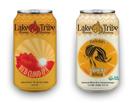 Lake Tribe announced the purchase of a canning line in 2018 and released two popular beers into distribution: Red Cloud IPA and Old Chief.