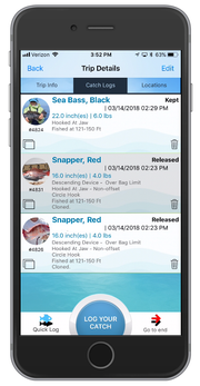 The MyFishCount app