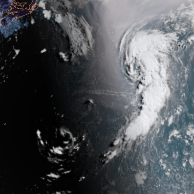 Subtropical Storm Ernesto forms in Atlantic; Lane forecast to become hurricane in Pacific