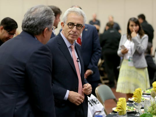 Former Mexican President Ernesto Zedillo served as the keynote speaker at the U.S.-Mexico Border Summit on Wednesday at the Judson F. Williams Convention Center.