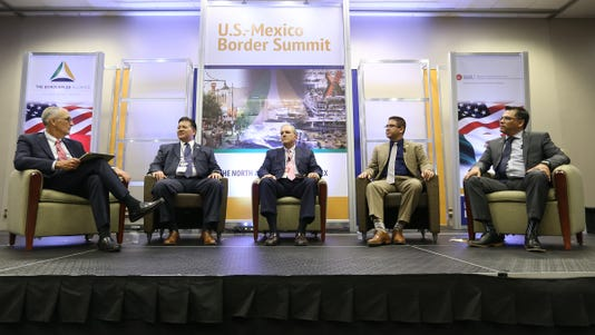 Us Mexico Border Summit In El Paso