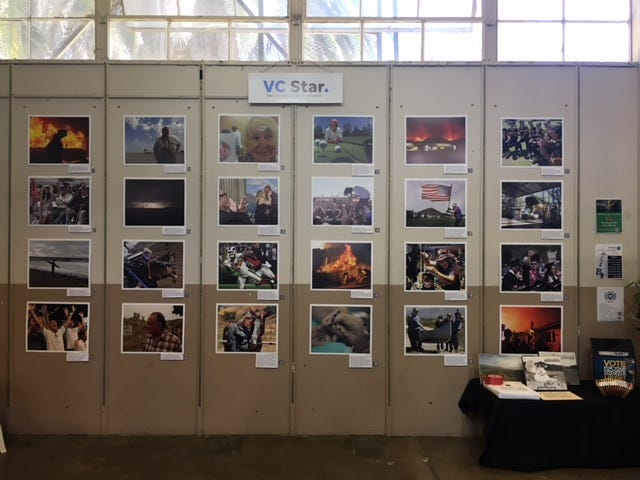 The Ventura County Star showcased 24 images in a photo exhibit at the Ventura County Fair. Fairgoers voted on their favorites, and these three photos garnered the most number of votes out of the 1,763 votes cast.