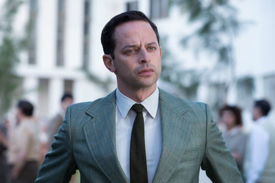 "Nick Kroll stars as Rafi Eitan in ""Operation Finale,"" written by Matthew Orton and directed by Chris Weitz, a Metro Goldwyn Mayer Pictures film."