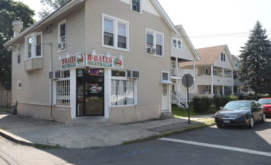 The exterior of B-Balls Meatballs on Prairie Avenue in Suffern, Aug. 15, 2018.