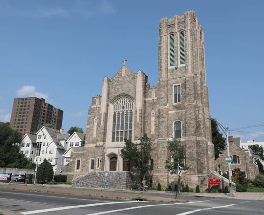 The exterior of St. Peter's Church on Ludlow Street and Riverdale Avenue in Yonkers, Aug, 15, 2018.