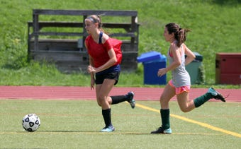 The Pleasantville varsity girls soccer team goes into the upcoming season with strength at both ends of the field.